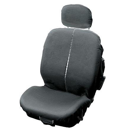 Universāls automašīnas sēdekļa pārvalks ar sānu kabatām \'Traveller\', pelēks  16.00